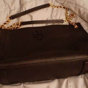 Tory Burch Slouchy McGraw chain shoulder bag